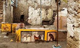 Di tích quầy thức ăn nhanh thời La Mã