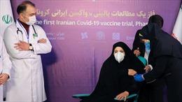 Iran cấm các công ty nước ngoài thử nghiệm vaccine cho người dân