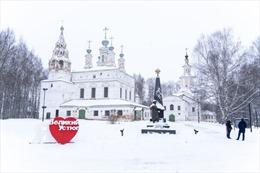 Lạc vào xứ sở thần tiên của Ông già Tuyết nước Nga