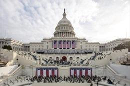 Quang cảnh buổi diễn tập lễ nhậm chức của ông Joe Biden