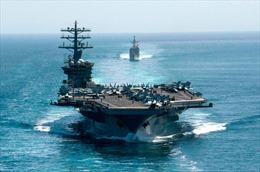 Mỹ rút tàu sân bay sau 10 tháng triển khai tại Vùng Vịnh