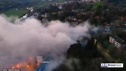 Kích nổ quả bom nặng gần 1 tấn từ Thế chiến 2 giữa thành phố Anh