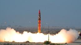 Video Pakistan thử thành công tên lửa đạn đạo tầm bắn 900km