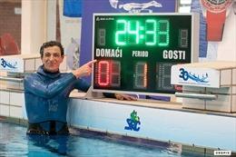 Người đàn ông lập kỷ lục thế giới mới khi nín thở hơn 24 phút