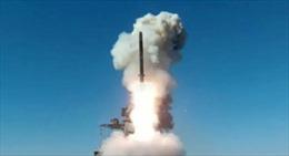 Video khinh hạm Nga thử nghiệm 'hỏa thần' Kalibr trên Biển Nhật Bản