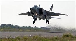 Video tiêm kích MiG-31của Nga chặn đầu máy bay Mỹ trên Thái Bình Dương
