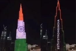 Tòa nhà cao nhất thế giới động viên Ấn Độ vượt qua 'sóng thần' COVID-19