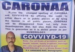 Người đàn ông Ấn Độ loại bỏ COVID-19 bằng cách...viết sai chính tả