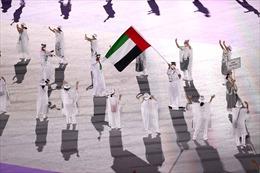 Các đoàn thể thao diễu hành 'giãn cách' tại Lễ khai mạc Thế vận hội Tokyo 2020