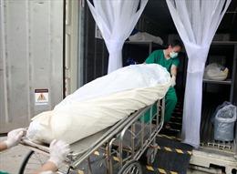 Nhà xác quá tải, Thái Lan phải dùng container đông lạnh chứa thi thể nạn nhân COVID-19