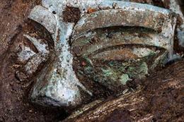 Chiêm ngưỡng mặt nạ đồng hàng nghìn năm tuổi lớn nhất từ trước đến nay ở Trung Quốc