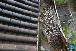 Mưa lớn phá huỷ gần 1.800 di tích lịch sử ở Trung Quốc