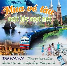 Bắt đầu mở bán vé tàu Tết 2019 trực tuyến từ ngày 5/9