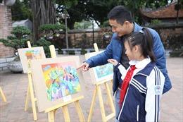 Học sinh hơn 700 trường tiểu học Hà Nội thi vẽ tranh 'Sải cánh vươn cao' 2018