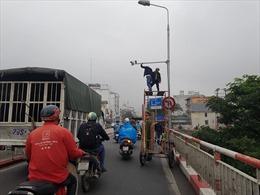 Lắp đồng bộ camera 'phạt nguội', giảm áp lực cho cảnh sát giao thông