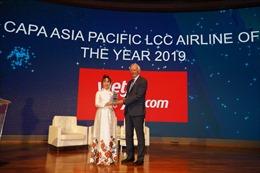 Vietjet là hãng hàng không chi phí thấp dẫn đầu tại Châu Á Thái Bình Dương