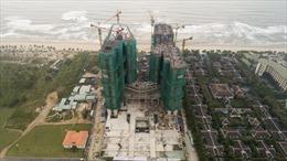 Cất nóc dự án Ariyana Beach Resort và Suites Danang