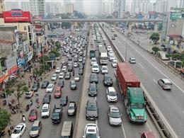 Hà Nội: Bến xe đìu hiu, đường vành đai 3 ùn tắc kéo dài