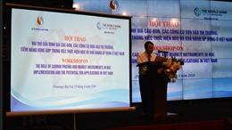 Thị trường tiềm năng 'định giá khí thải' tại Việt Nam