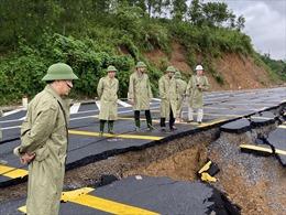 Các quốc lộ qua miền Trung đã thông tuyến, công tác khắc phục sạt lở khó khăn