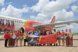 Vietjet tưng bừng khai trương đường bay Băng Cốc – Ubon Ratchathani