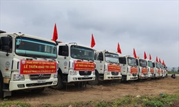 Thi công 3 gói thầu đoạn Mai Sơn-Quốc lộ 45 thuộc cao tốc Bắc Nam