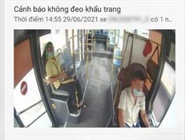 Công nghệ trí tuệ nhân tạo cảnh báo người không đeo khẩu trang trên xe khách