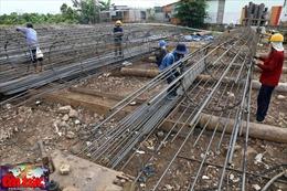 Cầu Mỹ Thuận 2 nguy cơ chậm tiến độ vì giá thép tăng cao