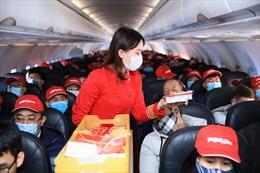 Vietjet tặng triệu mã giảm 77% và miễn phí 15 kg hành lý bay từ Hà Nội đi khắp Việt Nam