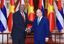Thủ tướng tiếp Phó Chủ tịch thứ nhất Hội đồng Nhà nước và Hội đồng Bộ trưởng Cuba
