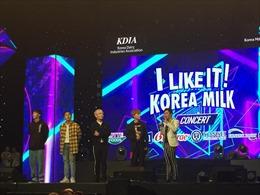 Dàn sao Việt hội tụ tại Đại nhạc hội 'I like it! Korea Milk'
