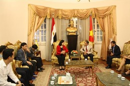 Đoàn đại biểu thành phố Hà Nội thăm và làm việc tại Ai Cập