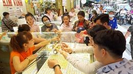 Giá vàng trong nước giảm 300.000 đồng/lượng