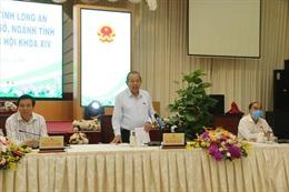 Đoàn Đại biểu Quốc hội tỉnh Long An tiếp thu ý kiến cử tri trước kỳ họp thứ 9, Quốc hội khóa XIV