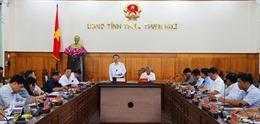 Phó Chủ tịch Quốc hội Phùng Quốc Hiển kiểm tra công tác bầu cử tại Thừa Thiên - Huế