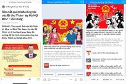 Người dân có thể theo dõi thông tin bầu cử Quốc hội và HĐND các cấp qua Zalo