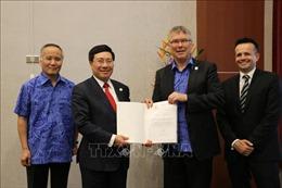 Phó Thủ tướng Phạm Bình Minh dự Hội nghị liên Bộ trưởng Ngoại giao – Kinh tế APEC