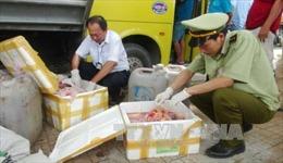 Chở 2,5 tấn nội tạng nhập lậu, liều lĩnh đâm xe ô tô cảnh sát để chạy trốn