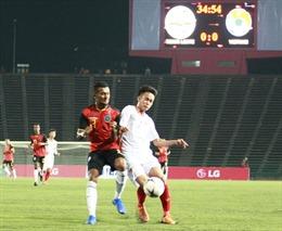 Thắng nhàn Timor Leste, U22 Việt Nam tiến vào vòng bán kết
