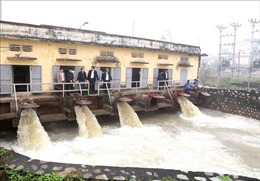 Nhiều địa phương đã hoàn thành lấy nước đổ ải