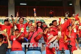 ASIAD 2018: Các tour 'khẩn cấp' sang Indonesia cổ vũ Olympic Việt Nam gần kín chỗ