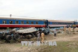 Quảng Trị: Xe mô tô va chạm tàu hỏa, một người tử vong