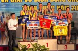 Cần Thơ, Khánh Hoà giành ngôi đầu Giải vô địch bóng chuyền bãi biển toàn quốc 2018