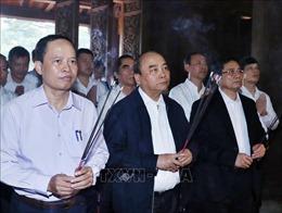 Thủ tướng dâng hương tại Khu di tích lịch sử Quốc gia đặc biệt Lam Kinh
