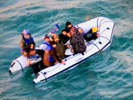Người vượt eo biển Anh xin tị nạn tăng đột biến trong mùa Giáng sinh