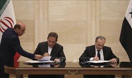Iran ký thỏa thuận hợp tác kinh tế đặc biệt với Syria