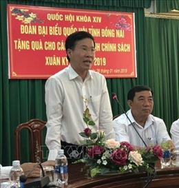 Trưởng ban Tuyên giáo Trung ương thăm, tặng quà các gia đình chính sách tại Đồng Nai