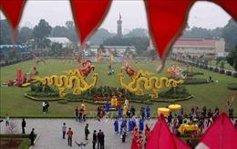 Trải nghiệm không khí ngày lễ 'Tiễn cựu nghinh Xuân' tại Di sản Hoàng thành Thăng Long