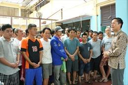Đại sứ quán Việt Nam tại Indonesia thăm lãnh sự ngư dân trước thềm Tết Nguyên đán