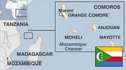 Mỹ rút toàn bộ nhân viên khỏi Comoros do bất ổn chính trị